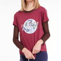 It's Just A Phase NO9 Tee | Sangria