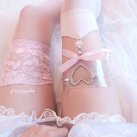 Clear Dolly Garter from CREEPYYEHA