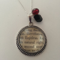 Les Miserables Enjolras Necklace