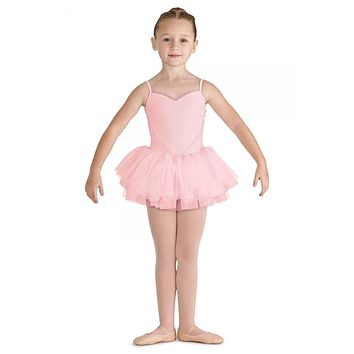 Bloch Toddler's/Girl's Heart Mesh Front Tutu Leotard