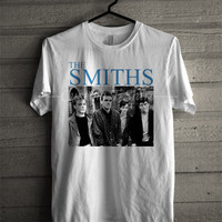 The Smiths rock tshirt music unisex size -ssstl Unisex T- Shirt For Man And Woman / T-Shirt / Custom T-Shirt
