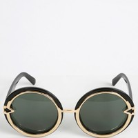 Look Here Rounded Sunglasses | MakeMeChic.com