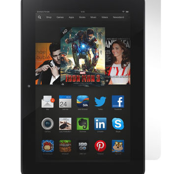 Screen Protector Clear Crystal for Amazon Kindle Fire HDX 7