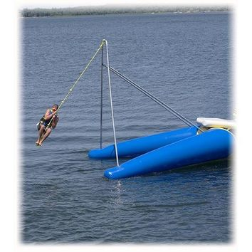 Rave Rope Swing Water Trampoline Attachment 2014