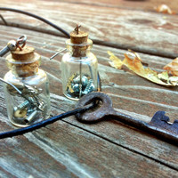 Steampunk Necklace Set