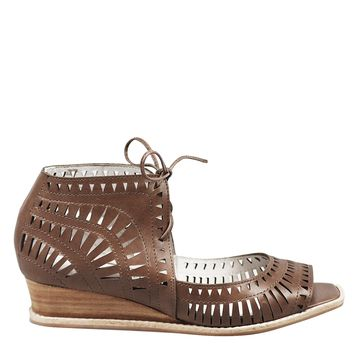Jeffrey Campbell Rodillo Sandal Women's - Khaki Leather