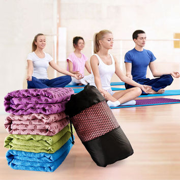 Non Slip Yoga Mat for Sport Fitness Exercise Pilates and Workouts