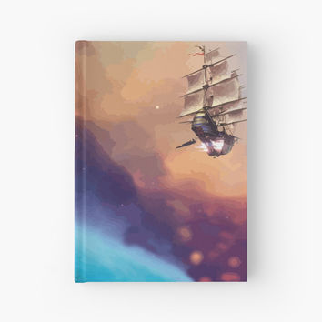 'Treasure Planet' Hardcover Journal by evilaki