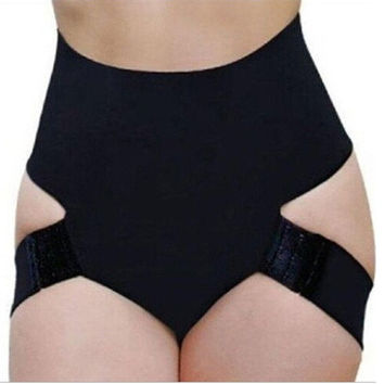 Women Bandage Body Sculpting Plastic Legs Buckle Hook Lutun Butt Lifter Shaper Panties Shapewear = 1715469060