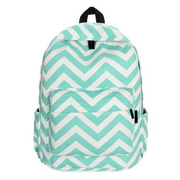 Canvas Sweet Stripe Backpack