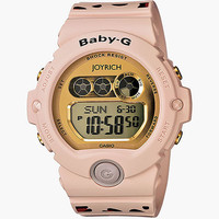 G-Shock Baby-G Joyrich Bg6900jr-4 Watch Light Pink/Brown One Size For Women 22793740701