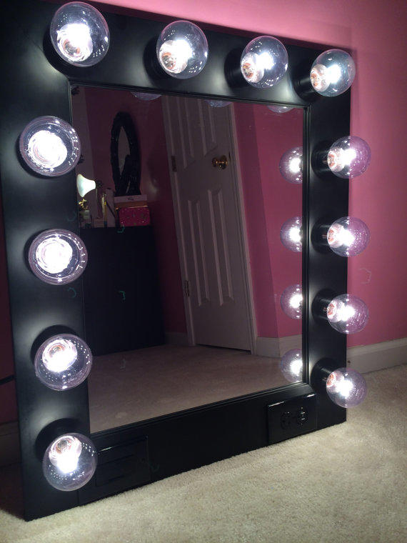 FREE Shipping! Vanity Mirror with from CustomVanity Etsy
