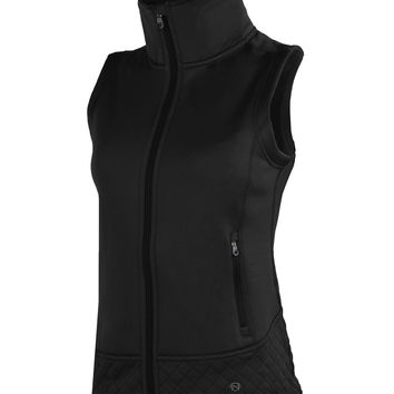 Noble Outfitters Premier Fleece Vest Black for Women