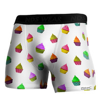 Real Cupcakes AOP Boxer Brief Dual Sided All Over Print