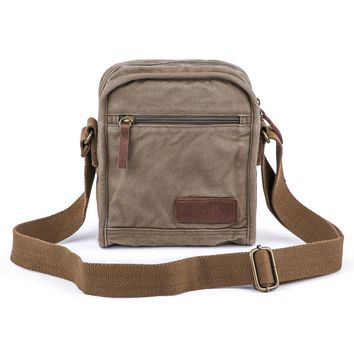 Small Canvas Messenger Bag #40199