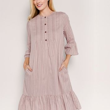 Miley Sleeve Nursing Friendly Dress