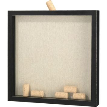 Signing Corks Shadow Box Frame 13in x 13in | Party City