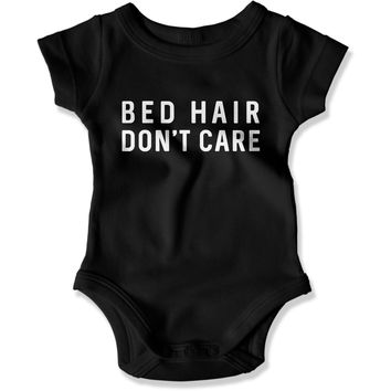 Bed Hair Don't care - Baby Bodysuit