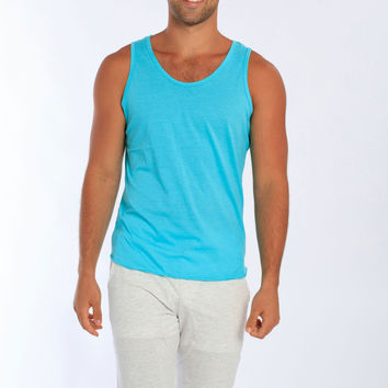 Miami Style® - Soft Fitted Cotton Men's Tank Top