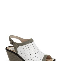 Women's Fly London 'Yile' Perforated Slingback Wedge,