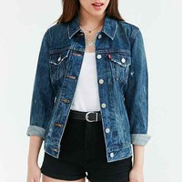 Levi's Blue Woodstock Denim Trucker Jacket