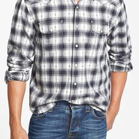 Men's Lucky Brand 'Badlands' Classic Fit Plaid Western