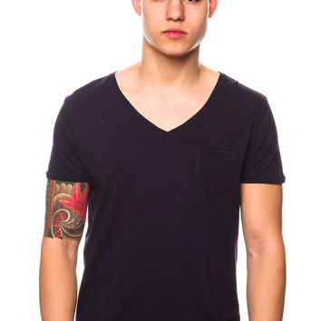 Scotch & Soda 51161 Chest Pocket Blue Smoke T-Shirt
