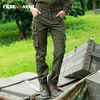 Woman Tactical Pants Military Cargo Pants Multi-pockets Women Pants Casual Trousers Army Pants