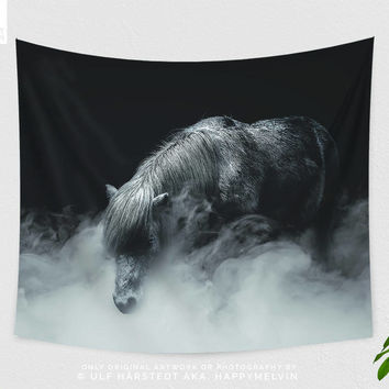 Things Change | Wall tapestry | Tapestry | Wall hangings | Horse Wall Tapestry | Animal Tapestry | Nature | Photography | Original Artwork
