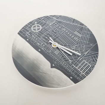 Venice Beach - Wall Clock
