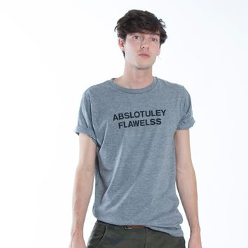 Abslotuley Flawelss Gray Tee by Altru Apparel