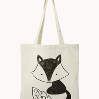 Quirky Raccoon Tote | FOREVER 21 - 2040495726