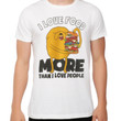 Adventure Time Jake Loves Food More T-Shirt