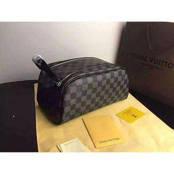 LV LOUIS VUITTON TOILETRY COSMETIC BAG BAGS PURSE WALLET I