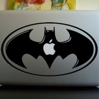 Apple Macbook Vinyl Decal Sticker - Batman Symbol