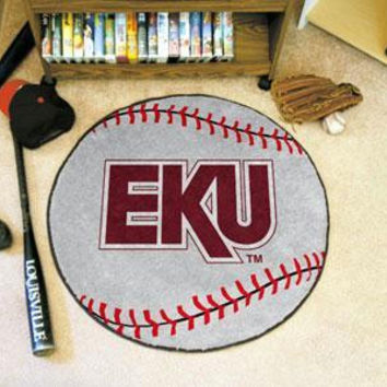 Eastern Kentucky University Baseball Rug