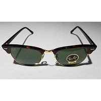 Brand New Rayban Sunglasses RB 3016 Clubmaster W0366 Size 51-21-145