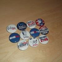 HILLARY CLINTON for President 2016 election campaign button Set badges pins democrat *you get all 11 pictured*
