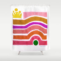 :: Princess n' Pea :: Shower Curtain by :: GaleStorm Artworks ::