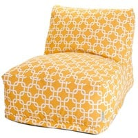 Yellow Links Bean Bag Chair Lounger