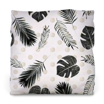 Tropical Love Throw Pillow
