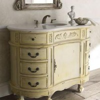 """Melanie"" Vanity Chest with Sink - Horchow"