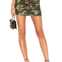 Lovers + Friends Celina Skirt in Camo