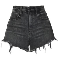 Bite High Rise Frayed Shorts