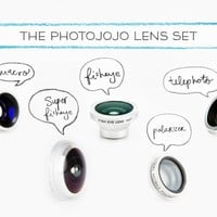 Photojojo's Magnetic Phone Lens Series