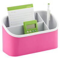 The Container Store > Pink Magnetic Organizer Bin