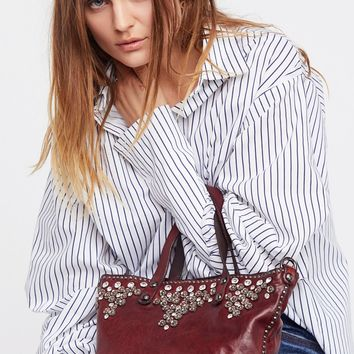 Free People Turin Embellished Tote
