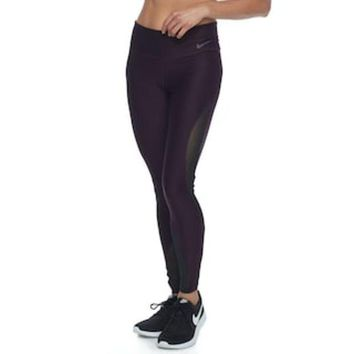 ICIKX8J Women's Nike Power Training Mesh Tights | null