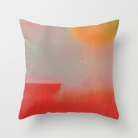Under the Sun Throw Pillow by duckyb