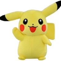 """Official Pokemon Best Wishes Plush Toy - 7"""" Pikachu (Japanese Import)"""